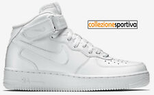 NIKE AIR FORCE One af1 usate uomo ginnastica trash corsa
