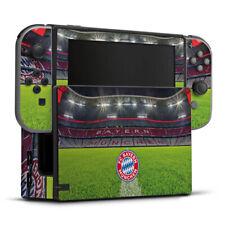 Nintendo Switch Folie Aufkleber Skin - Stadionrasen FC Bayern München