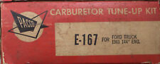 """Pacco Carburetor Tune Up Kit E-167 Ford Truck 1961 144"""" Engine (467*)"""