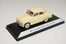 FF 1:43 STARTER T136 T 136 SIMCA ARONDE 1300 ELYSEE 1956 CREAM MINT ON PLINTH