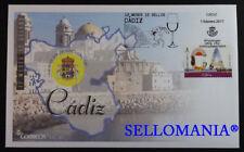 2017 CADIZ 12 MONTHS 12 STAMPS EDIFIL 5104 FDC SPAIN STAMPS  TC20235