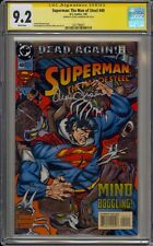SUPERMAN: MAN OF STEEL #40 - CGC 9.2 - SIGNED BY LOUISE SIMONSON - 1427798007