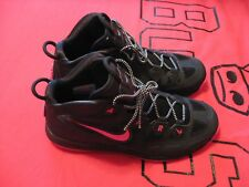 New Nike Air Max Uptempo Fuse 360 Black And Pink Size 10 Shoes #1599