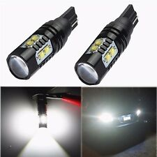 2x 50W CREE 921 912 T10 T15 LED 6000K White Backup Reverse Lights Bulb