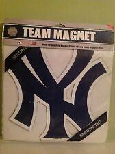 "New York Yankees MLB Major League Baseball 12"" Logo Team Magnet Auto Home Office"