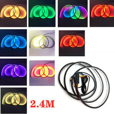 2.4M RGB Car Rear Trunk Strip Light Tailgate Brake Drive Turn Signal Flow LED