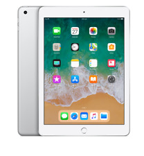 Apple iPad 9.7 Inch (2018) 32GB WiFi + Cellular Silver NEW + Warranty!!