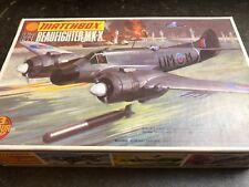 MATCHBOX 1/72 pk-103 Beaufighter MK-X Vintage Model kit Aerei parte mancante