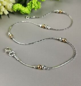 ANKLET 925 Sterling Silver  dainty Ankle Bracelet  dainty Chain