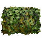 13x6.5FT Camouflage Camo Army Green Net Netting Military Hunting Woodland Leaves