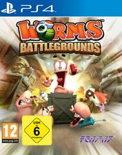 Ps4 / Sony PlayStation 4 juego - Worms Battlegrounds (de/en) (con Emb. Orig.)