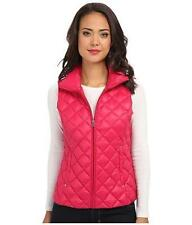 Nylon Patternless Gilet Outdoor Coats & Jackets for Women