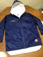 Youth NIKE BIG BLOCK SMALL e navy sz M 10-12 Winter team sports Jacket Coat