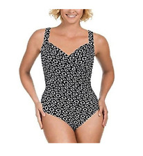 8f33978e86daf Kirkland Signature by Miraclesuit Womens 1 Piece All Over Body Control  Swimsuit