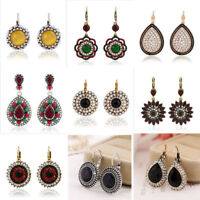 Vintage Earrings Round 1 Women Multicolor Boho New Style Bohemian Ethnic Fashion