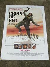 08C1 Old Poster Cinema - cross of Iron Sam Peckinpah James Coburn 1977
