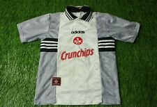 1. FC KAISERSLAUTERN 1997/1998 RARE FOOTBALL SHIRT JERSEY AWAY ADIDAS ORIGINAL