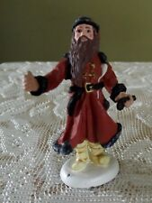 "Duncan Royale History Of Santa Victorian 10Th / 500 Pewter 2 3/4"" Tall Figurine"