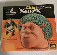 Chia Shrek Head Handmade Decorative Planter Still Sealed new