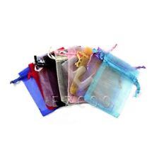 25pcs Organza Cadeau Sachets Pochettes Mariage Bijoux Sacs Multicolore 20x30cm