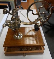 Antique Topping Tool / Watch Gear Cutting / Jewelers Lathe - Circa 1860 -RARE!