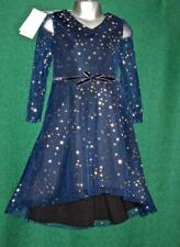 New MONSOON Girls Age 5 Sparkly Blue Gold Star NOVA Scuba Party Bridesmaid Dress