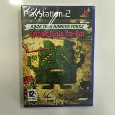 AQUA TEEN HUNGER FORCE Zombie Ninja Pro-Am - PS2 Playstation - PAL - Neuf -