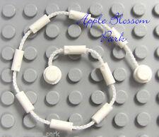 NEW Lego Minifig WHITE CLIMBING ROPE VINE Web String-Poison Ivy Batman Spiderman