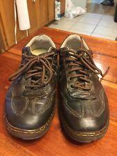 DR DOC MARTENS KURT Brown Leather Lace Up Casual Oxford Shoes Mens US M 9 / L 10
