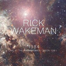 RICK WAKEMAN 1984 Live At The Hammersmith Odeon 140g white vinyl 2LP SEALED/NEW
