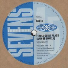 Melvin Davis / Johnny Hampton Find A Quiet Place Sevens 015 Soul Northern Motown