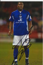 Leicester City Firmato a Mano yakubu 6X4 foto.