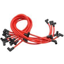9PCS High Performance 10.5 MM Spark Plug Wire Set HEI SBC BBC 350 383 454 RED