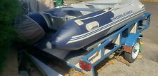 Boat 2017 Bestway 10ft 5in Pontoon Dinghy With Trailer Raft Boat