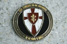 """Pipe Hitters Union Special Forces 2"""" challenge coin God's will cross Deus Vult"""