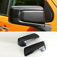 For 2019-2021 Chevy Silverado / GMC Sierra 1500 Carbon Fiber Print Mirror Covers