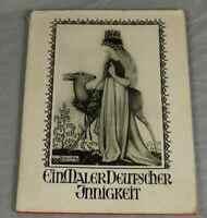Buch: Ein Maler Deutscher Innigkeit - R. Schaumann mit 42 Bildern um 1935 /S239