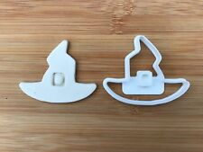 Halloween Uk Seller Plastic Biscuit Cookie Cutter Fondant Cake Decor Witch Hat