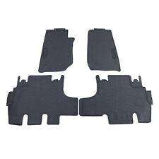 Premium Gummi Fußmatten Set 4-teilig Schwarz für Jeep Wrangler JK 07-19