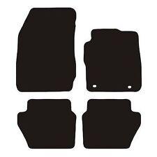 Ford fiesta MK7 (2008-2011) 3mm Black Checker Rubber Tailored Car Floor Mats