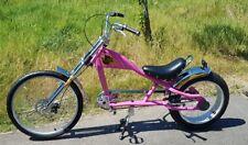 Rosetta Deporte La Bicicleta Lowrider Rosa Chopper Harley Cruiser