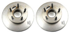 Two Front Disc Brake Rotors 4WD Ford Bronco II 84-90, Ranger 83-96 Aimco Canada