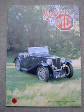 Enjoying MG (January 1992) Midget Overdrive Conversion, ND Magnette, Drag racing