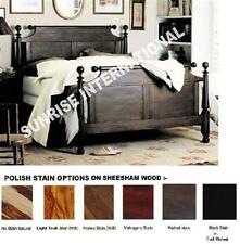 Colonial Style Wooden King Size Double Bed  !