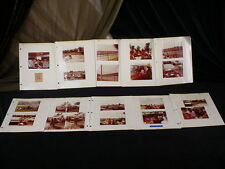 LOT VINTAGE 1984 PERSONAL FAN PHOTOS~ PARTYING AT THE INDY 500 ~ Original Ticket