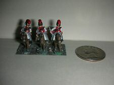 """Vintage Lead Miniature Field Soldiers on Horses - 1"""" Tall - (#19)"""