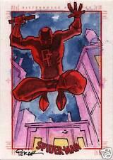 Spider-Man Archives Sketch Card by Joe Pekar of Daredevil
