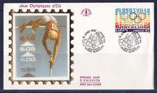 a/ Espagne , conjointe , jeux olympiques d'été  1992