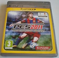 PES 2011 - PRO EVOLUTION SOCCER 2011 for Playstation 3  PS3 with box & manual