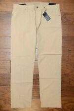 Armani Exchange A X Men's Khaki Lightweight Stretch Cotton Trousers Pants 38